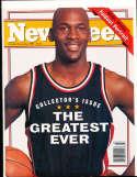 Michael Jordan 1993, October Newsweek magazine no label newsstand nm  rwa4