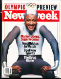 Marion Jones 2000, 9/11 Newsweek magazine no label newsstand nm  rwa4