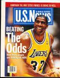 1996, 2/12 Magic Johnson Lakers  US News no label newsstand magazine rwa4