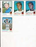 Jim Hardin Atlanta Braves #124 Signed 1973 Topps Baseball Card
