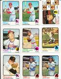 Charlie Fox #252 Giants em 1973 topps Signed Baseball card