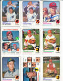 Gaylord Perry Indians #66 1973 topps Signed Baseball card