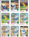 Jim Beauchamp Mets #137  1973 topps Signed Baseball card