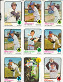 Jim Northrup Tigers #168  1973 topps Signed Baseball card
