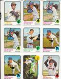 Jerry Johnson Giants #248  1973 topps Signed Baseball card