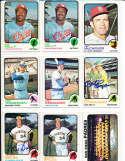 Mike Jorgensen Expos #281  1973 topps Signed Baseball card