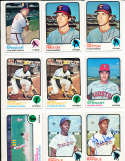 Jim Spencer Angels #319  1973 topps Signed Baseball card