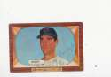 Bill Wight Cleveland Indians #312 Signed 1955 Bowman Baseball Card