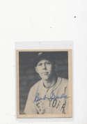 Robert I seeds New York Giants 1939 Playball signed card