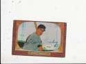 Johnny Pesky Baltimore Orioles #241  Signed 1955 Bowman Baseball Card