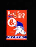 Boston Red Sox 1963 Press Radio Media Guide