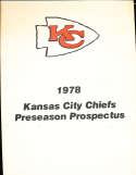 1978 Kansas City Chiefs Preseason Prospectus