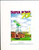 Superbowl XII 1978 Media Guide Cowboys vs Broncos