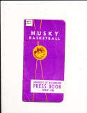 1957 University of Washington Basketball Press Media Guide
