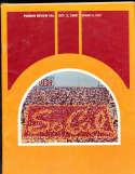 1968 10/5 Miami vs USC football Program