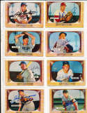 Billy Bruton Milwaukee Braves #11 SIGNED 1955 Bowman baseball card