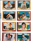 Wally Post cincinnati Reds #32 (d.82) SIGNED 1955 Bowman baseball card