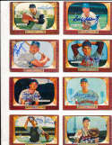 Gerry Staley Cincinnati Reds #155 SIGNED 1955 Bowman baseball card