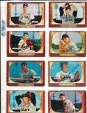 Joe Adcock Milwaukee Braves #218 SIGNED 1955 Bowman baseball card