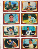 Lloyd Merriman Chicago White Sox #135 SIGNED 1955 Bowman baseball card