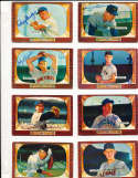 Hal Jeffcoat Chicago Cubs #223 SIGNED 1955 Bowman baseball card