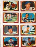 Lou Limmer Kansas City Athletics #80 SIGNED 1955 Bowman baseball card