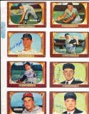Bill Hunter New York Yankees #69 SIGNED 1955 Bowman baseball card