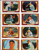 Robin Roberts Philadelphia Phillies #171 SIGNED 1955 Bowman baseball card