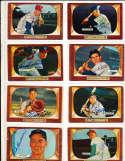 Lou Burdette Milwaukee Braves  #70 SIGNED 1955 Bowman baseball card