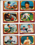 Eddie Robinson New York Yankees #153 SIGNED 1955 Bowman baseball card