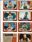 Andy Seminick Reds #93 SIGNED 1955 Bowman baseball card