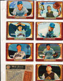Jim Hughes Brooklyn dodgers #156 SIGNED 1955 Bowman baseball card