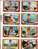 Joe Nuxhall Cincinnati Reds #194 SIGNED 1955 Bowman baseball card
