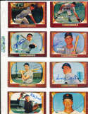 George Kell Chicago White sox #213 SIGNED 1955 Bowman baseball card