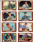 Bobby Thomson Braves #102 SIGNED 1955 Bowman baseball card