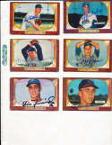 Johnny Podres Brooklyn Dodgers #97 SIGNED 1955 Bowman baseball card