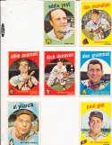 Albie Pearson Washington Senators #4 SIGNED 1959 Topps baseball card