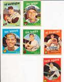 Don Buddin Boston Red Sox #32 SIGNED 1959 Topps baseball card