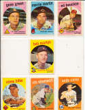 Andy Carey New York Yankees #45 SIGNED 1959 Topps baseball card
