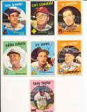 Eddie Miksis Cincinnati Reds #58 SIGNED 1959 Topps baseball card
