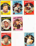 Brooks Lawrence Reds #67 SIGNED 1959 Topps baseball card