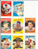 Cookie Lavagetto Roy Sievers #74 SIGNED 1959 Topps baseball card