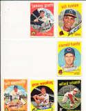 Willard schmidt Cincinnati Reds #171 SIGNED 1959 Topps baseball card