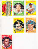 Johnny briggs Cubs #177 SIGNED 1959 Topps baseball card