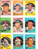Rip Repulski Dodgers #195 SIGNED 1959 Topps baseball card