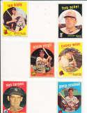 Tom Acker Reds #201 SIGNED 1959 Topps baseball card