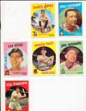 Woody Held Cleveland Indians #266 Signed topps card SIGNED 1959 Topps baseball card