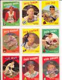 Joe Jay Braves #273 Signed topps card SIGNED 1959 Topps baseball card