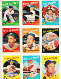 Sal Maglie St. Louis Cardinals #309  1959 Topps Signed card SIGNED 1959 Topps baseball card