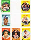 Ray Jablonski San Francisco Giants #342  1959 Topps Signed card SIGNED 1959 Topps baseball card